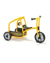 Winther Circleline School Bus Tricycle, Yellow, Ages 4-7 Years (WIN565)