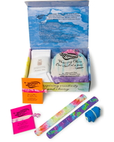 Girl's Momma Osa Cotton Candy Tie Dye Activity Kit, Size Small