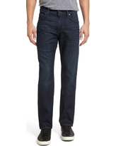Men's 7 For All Mankind The Straight Airweft Slim Straight Slim Leg Jeans, Size 30 - Blue