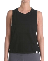 Vimmia Women's Pacific Pintuck Muscle Tee - Large - Black