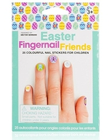 Wrapables NPW Fingernail Friends Nail Stickers Easter Nail Art for Children Easter Party Favor (50 Stickers)