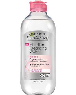 Garnier SKINACTIVE Micellar Cleansing Water All-in-1 Makeup Remover & Cleanser - 13.5 fl oz