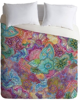 Stephanie Corfee Flourish Allover Lightweight Duvet Cover King Pink - Deny Designs, Multicolored