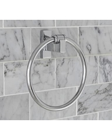 Hewitt Towel Ring, Chrome