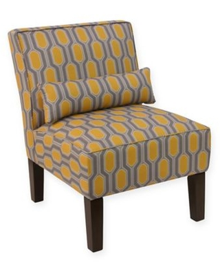 Cool Skyline Furniture Skyline Furniture Accent Chair In Hexagon Yellow From Bed Bath Beyond Real Simple Machost Co Dining Chair Design Ideas Machostcouk