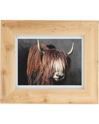 Baum Birdy Yak Art Print - Brown 8X10 at Urban Outfitters