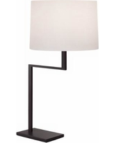 Sonneman Thick Thin Coffee Bronze Table Lamp