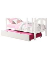 Acme Furniture Heartland White Twin over Twin Bunk Bed (Trundle Only)