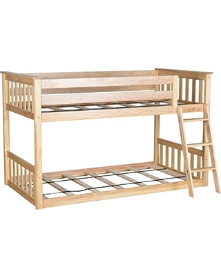 Huge Deal On Max Lily Twin Over Twin Low Bunk Bed Natural