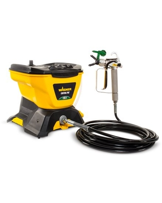 Wagner 0580678 Control Pro 130 Power Tank Paint Sprayer, High Efficiency Airless with Low Overspray