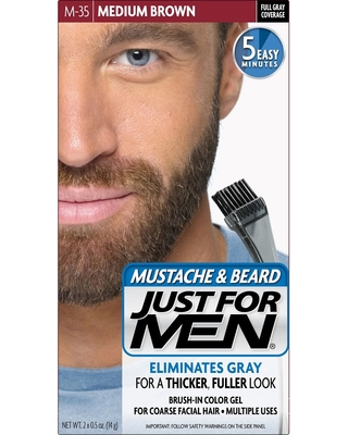 Amazing Savings on Just For Men Mustache and Beard Men\'s Hair Color ...
