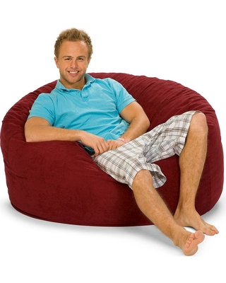 Remarkable Relax Sacks Foam Bag Chair Cinnabar Relax Sacks Adult Unisex Red From Target Real Simple Unemploymentrelief Wooden Chair Designs For Living Room Unemploymentrelieforg