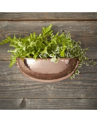 Can T Miss Deals On Copper Half Round Wall Planter