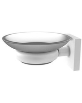 Allied Brass Montero Collection Wall Mounted Soap Dish (Matte White)