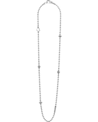 Women's Lagos Caviar Icon Elements Necklace