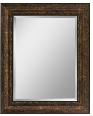 """Head West Bronze, 28-1/2 by 34-1/2-Inch Copper Beaded Mirror, 28.5 by 34.5 Inches, 28.5"""" x 34.5"""""""