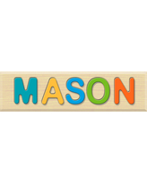 Personalized Name Puzzle - Mason - Early Learning Toys for Babies - Fat Brain Toys