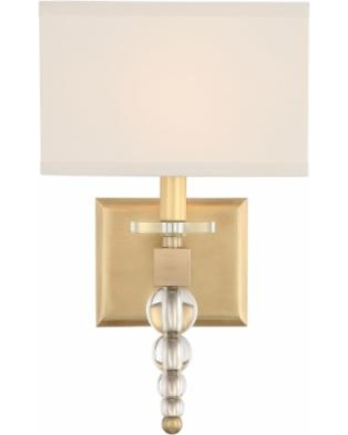 Crystorama Clover 16 Inch Wall Sconce - CLO-8892-AG