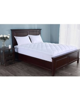 St. James Home Stain Resistant Mattress Pad, 400 Thread Count, Queen