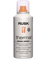 Rusk Designer Collection Thermal Shine Spray, 4.4-oz, from Purebeauty Salon & Spa