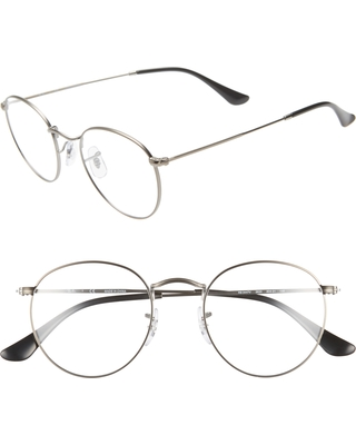 36fe5d657e Amazing Deal on Women s Ray-Ban 50Mm Round Optical Glasses - Matte ...
