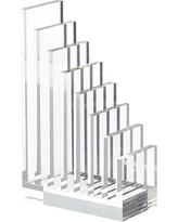 Acrylic File Sorter & Bookend