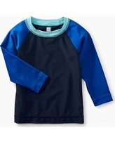 Tea Collection Long Sleeve Raglan Baby Rash Guard