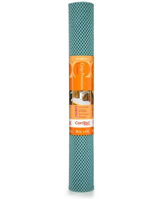 Con-Tact Grip Premium 20 in. x 4 ft. Dusk Blue Non-Adhesive Thick Grip Drawer and Shelf Liner (6 Rolls)