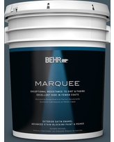 Huge Deal On Behr Ultra 5 Gal Ecc 35 3 Thunder Bay Satin Enamel Exterior Paint And Primer In One