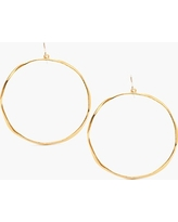 Women's Gorjana 'G Ring' Hoop Earrings