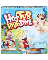 Hasbro Gaming Hot Tub High Dive Game With Bubbles For Kids Board Game For Boys and Girls Ages 4 and Up