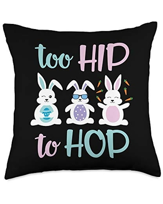 Hip Hop Easter Pillow for Holiday decor