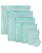 DII Set of 6 Mesh Laundry Bags for Delicates, Bra, Underwear, Hosiery, Stocking, Lingerie, Travel Storage, and Closet Organization - Set of 6 Assorted Sizes