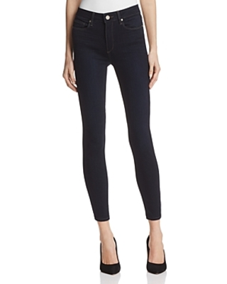 Paige Hoxton High Rise Ankle Jeans in Mona - 100% Exclusive