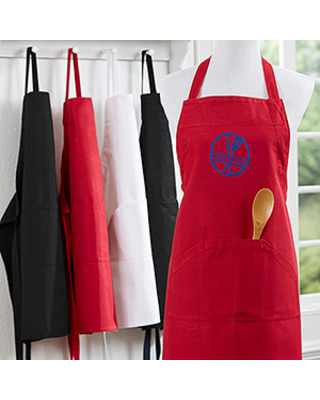 Personalized Chefs Aprons - Embroidered Family Brand