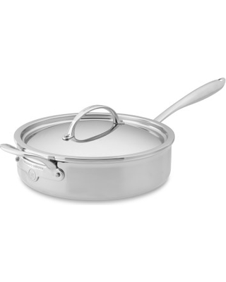 Williams Sonoma Thermo Clad Tm Stainless Steel Saute Pan With Lid