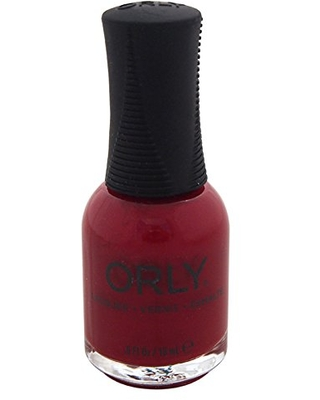 Orly Nail Lacquer, Forever Crimson, 0.6 Fluid Ounce
