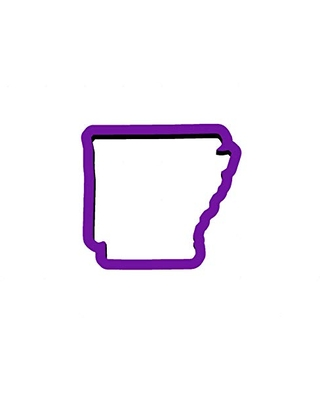 Arkansas Cookie Cutter - State Cookie Cutters - United States Cookie Cutters - Travel Cookie Cutters - Polymer Clay Cutters - State Cookies