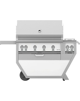 Hestan 60'' Grill with Double Burners, 3 Trellis Burners, 1 Sear Burner & 1 Rotisserie, Froth
