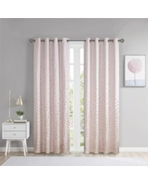 Intelligent Design Callie Yarn Dyed Cotton Curtain Grommet Top Multi-Color
