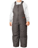 Arctix Infant-Toddler Chest High Snow Bib Overalls, Charcoal, 12 Months