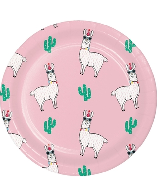 10ct Pink Llama Printed Paper Plates - Spritz  sc 1 st  Parenting & Summer Shopping Deals on 10ct Pink Llama Printed Paper Plates - Spritz