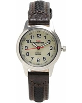 Timex Expedition Women's Leather Watch - T41181, Size: Small, Brown