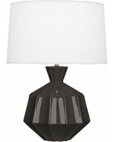 Robert Abbey Orion Coffee Ceramic Table Lamp