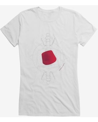 Doctor Who Red Fez Girls T-Shirt