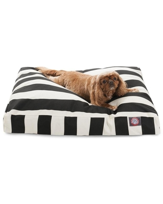 Majestic Pet Products Black Polyester Rectangular Dog Bed (For Medium) | 788995500193