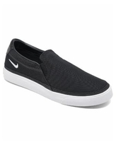 Nike Women's Court Legacy Slip-On Casual Sneakers from Finish Line - Black, White