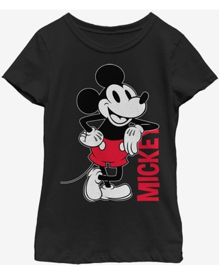Disney Mickey Mouse Vintage Mickey Youth Girls T-Shirt