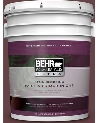 Discover Deals On Behr Ultra 5 Gal Mq1 14 Twinberry Extra Durable Eggshell Enamel Interior Paint Primer