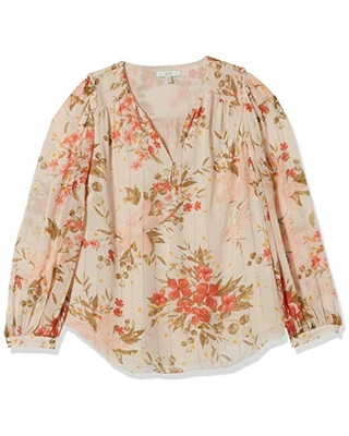 Joie Women's Albany B Blouse, Pearl, XX-Small